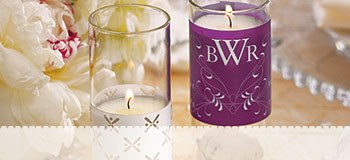 Wedding Candle Decorations
