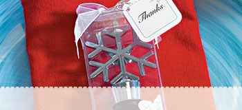 Winter Wedding Favors