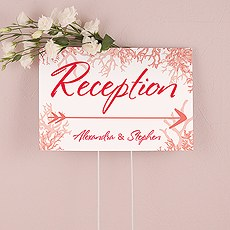 Reef Coral Directional Sign