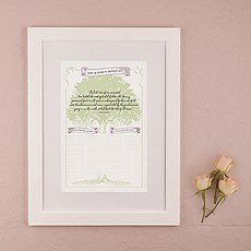 Stood The Test Of Time Personalized Signature Certificate with Frame