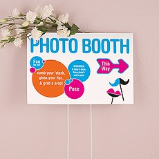 Retro Pop Directional Sign