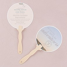 Wanderlust Personalized Hand Fan