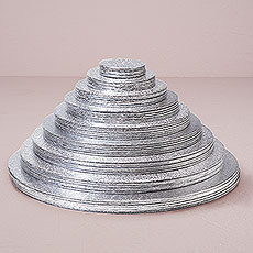 Round Foil Wrapped Cake Boards