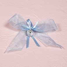 Something Blue - Chiffon Bow