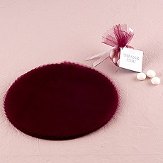 Tulle Circles with Scalloped Edge
