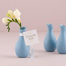 Mini Favor Decor Bud Vases In A Variety Of Colors