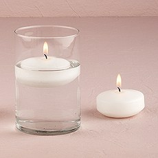 Round Floating Candles