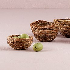 Mini Natural Bird's Nest Party or Wedding Favor