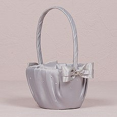 Platinum By Design Flower Girl Basket