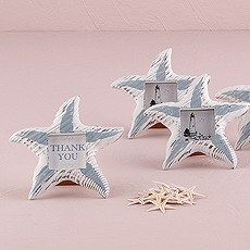 Small Wooden Starfish Photo Frames