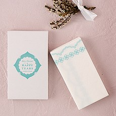 Pretty Tissues Printed in Sea Blue