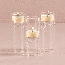 Blown Glass Miniature Tealight Luminaries