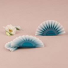 Paper Fan Place Card