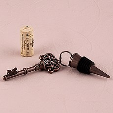 Vintage Key Ornamental Bottle Stopper