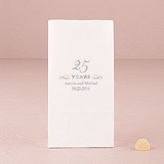 25 Years Self-Standing Paper Goodie Bag