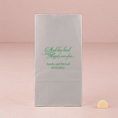 Happily Ever After Self-Standing Paper Goodie Bag