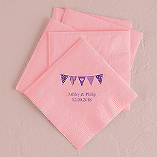 Pennants Printed Napkins