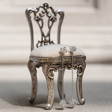 Miniature Chair Jewelry Holder