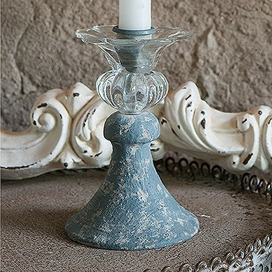 Vintage Inspired Taper Candle Holder