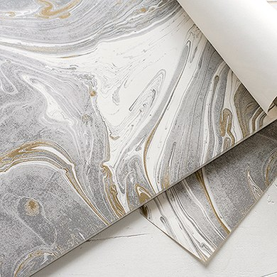 Marble Paper Placemats Disposable Table Decorations
