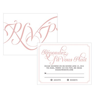 Expressions Wedding RSVP
