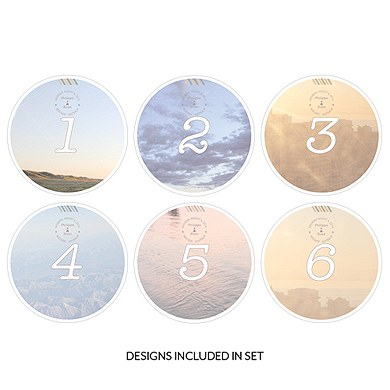 Wanderlust Round Table Numbers