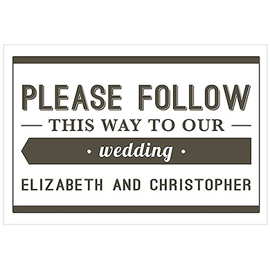 Bistro Bliss Personalized Directional Poster Sign
