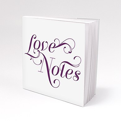Expressions Personalized Book Style Wedding Favor Notepad