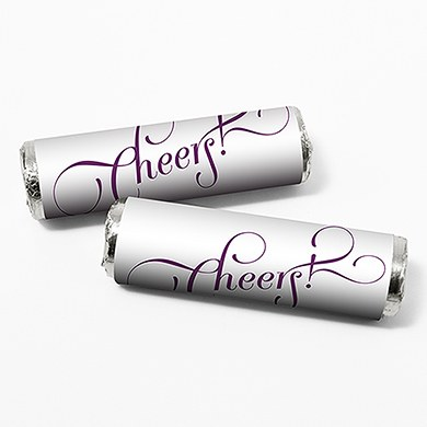 Expressions Personalized Wedding Candy Roll Wrap