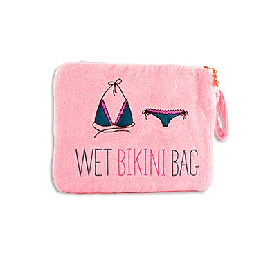 Wet Bikini Bag Light Pink