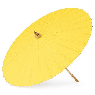 Paper Parasol Yellow / Sunflower
