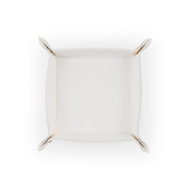 Travel Valet Jewelry Tray   Small in White