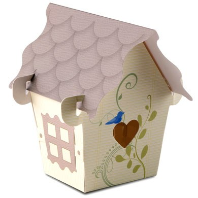 bird house wedding favor box