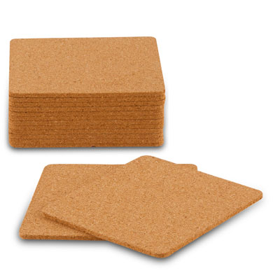 Cork Coasters   Square