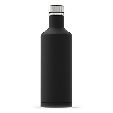 Times Square Travel Bottle - Matte Black