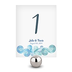 Sea Breeze Table Number
