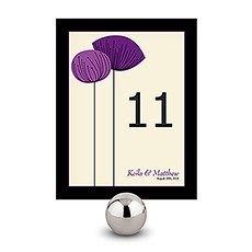 Romantic Elegance Table Number