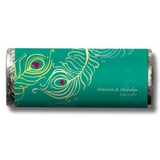 Perfect Peacock Nut Free Gourmet Milk Chocolate Bar