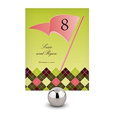 Golf Table Number