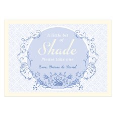 "Vintage Romance ""A Litte Bit Of Shade"" Signage"