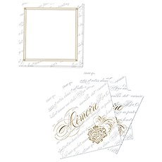 Parisian Love Letter Memory Box Well Wishing Cards