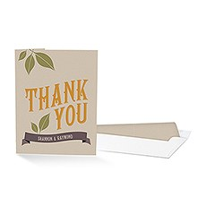 Vineyard Thank You Card