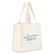 Aqueous Personalized Tote Bag