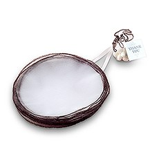 Bonboniere Tulle Circle Favor Metallic Thread