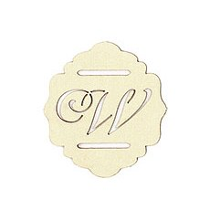 Laser Expressions Monogram Paper Buckle
