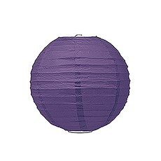 Small Paper Lantern - Purple