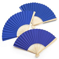 Paper Fan - Royal Blue