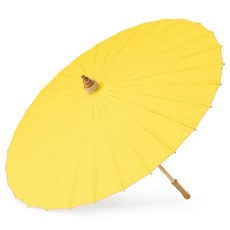 Paper Parasol - Yellow / Sunflower