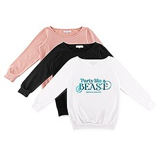 Personalized Bridal Party Wedding Sweatshirt - Party Like A Beast