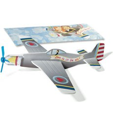 "Mini Airplane Glider Favors ""Love is in the Air"""